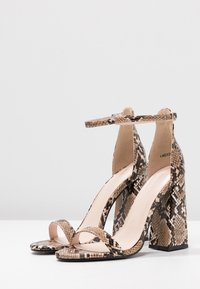 Public Desire - TESS - High heeled sandals - natural - 4