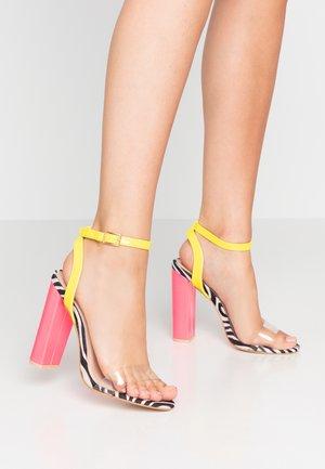NATASA - Sandaler med høye hæler - multicolor