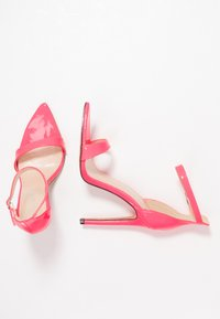 Public Desire - ACE - High heeled sandals - neon pink - 3