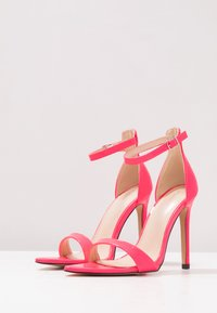 Public Desire - ACE - High heeled sandals - neon pink - 4