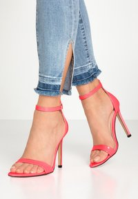 Public Desire - ACE - High heeled sandals - neon pink - 0
