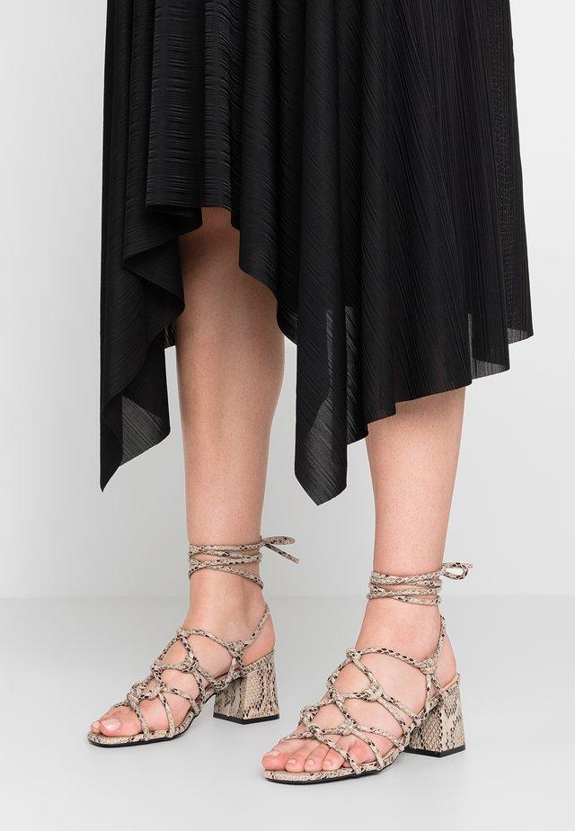 FREYA - Sandals - natural