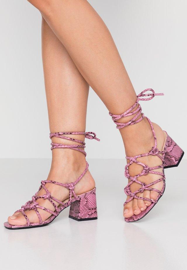 FREYA - Sandals - lilac