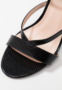Public Desire - JULIA - Sandály na vysokém podpatku - black - 2