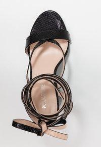 Public Desire - JULIA - Sandály na vysokém podpatku - black - 3