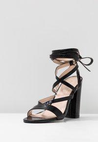 Public Desire - JULIA - Sandály na vysokém podpatku - black - 4