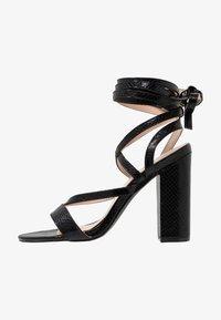 Public Desire - JULIA - Sandály na vysokém podpatku - black - 1