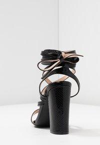 Public Desire - JULIA - Sandály na vysokém podpatku - black - 5
