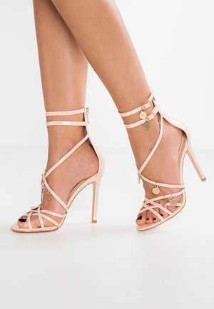 CHARMED - High Heel Sandalette - nude