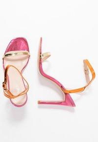 Public Desire - NOTION - Sandales à talons hauts - multicolor - 3