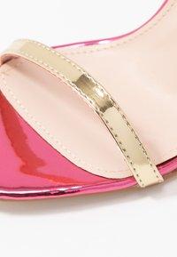 Public Desire - NOTION - Sandales à talons hauts - multicolor - 2