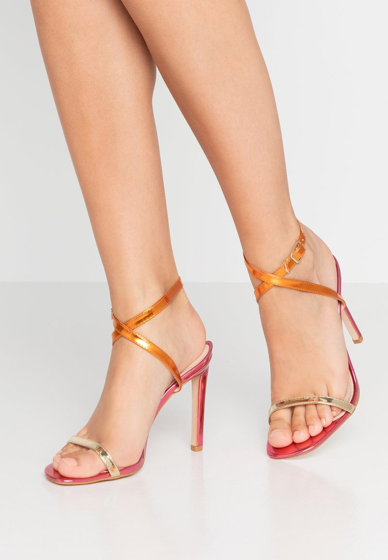 Public Desire - NOTION - High Heel Sandalette - multicolor
