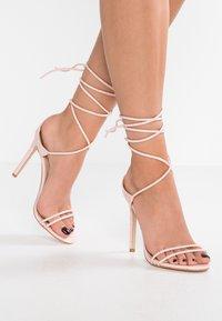 Public Desire - RUDIE - Sandály na vysokém podpatku - pink - 0