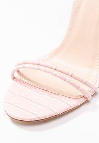 Public Desire - RUDIE - Sandály na vysokém podpatku - pink - 2