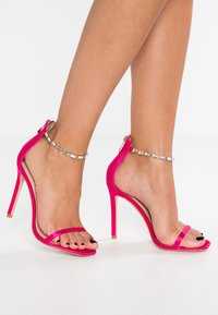 Public Desire - RIZZO - High heeled sandals - hot pink - 0