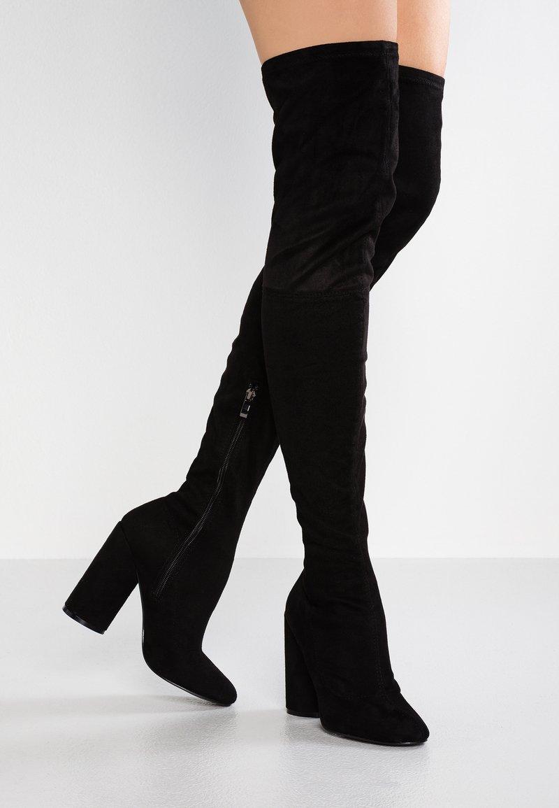 Public Desire - EVE - High Heel Stiefel - black