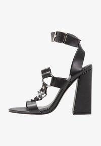 Public Desire - KNOCKOUT - Sandály na vysokém podpatku - black - 1