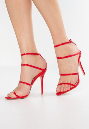 DATENIGHT - High Heel Sandalette - red