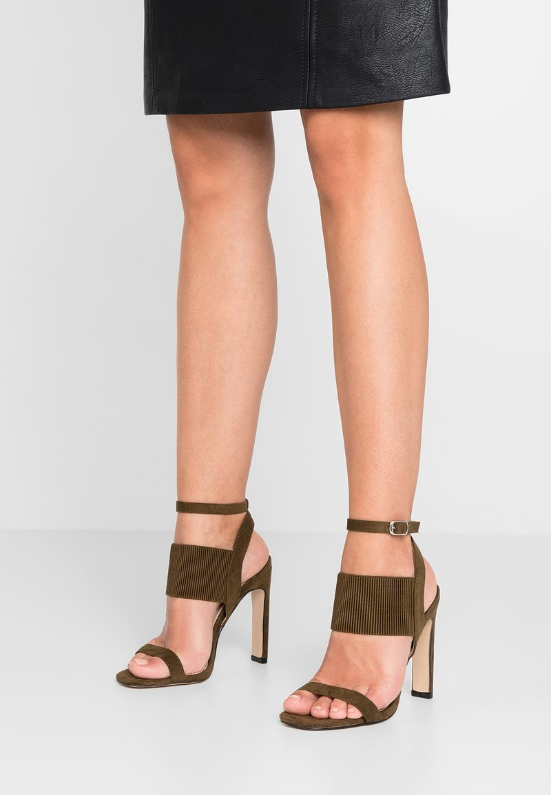 Public Desire - WHIPLASH - Højhælede sandaletter / Højhælede sandaler - khaki