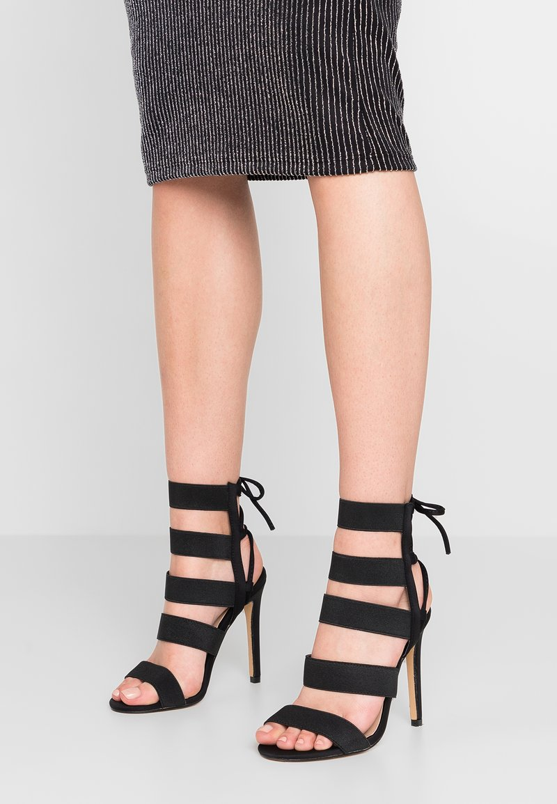 Public Desire - HARPER - High heeled sandals - black
