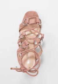 Public Desire - HOOKED - Sandály na vysokém podpatku - blush nude - 3