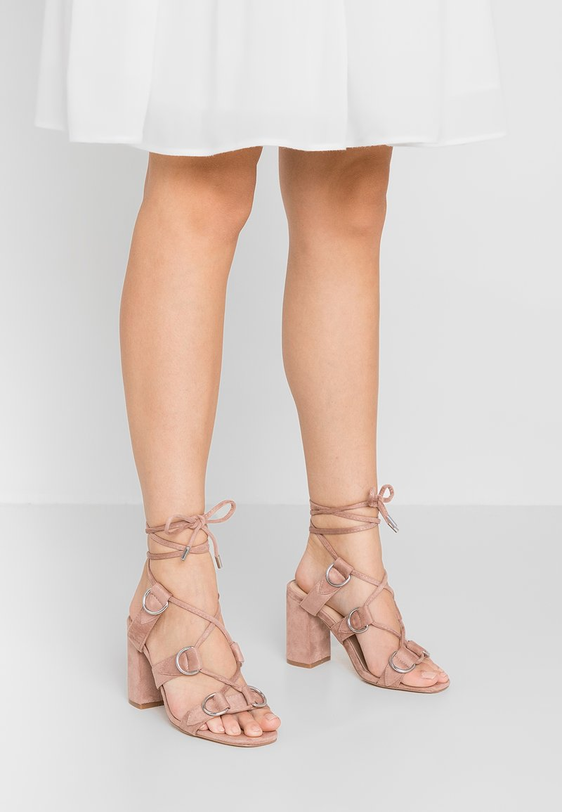Public Desire - HOOKED - High heeled sandals - blush nude
