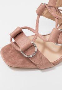 Public Desire - HOOKED - Sandály na vysokém podpatku - blush nude - 2