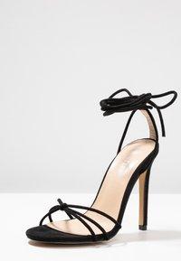 Public Desire - FLEUR - Sandaler med høye hæler - black - 4