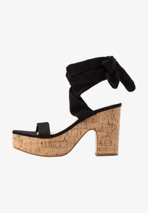 NAÏVE - Sandaletter - black