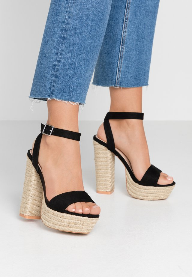 HANALEI - High heeled sandals - black