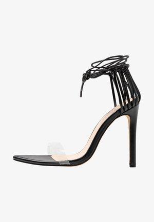 ISLA - Sandales à talons hauts - black
