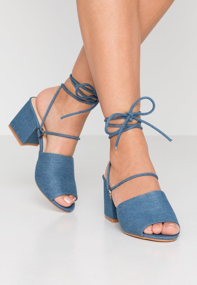 PADDINGTON - Sandaler - blue denim