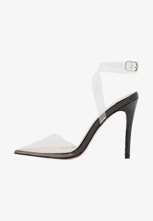 ERIN - Sandály na vysokém podpatku - black