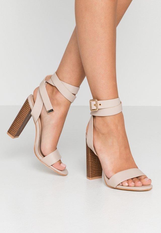 BREA - Sandaletter - nude