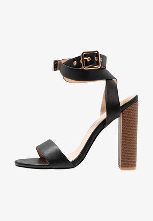 BREA - High heeled sandals - black
