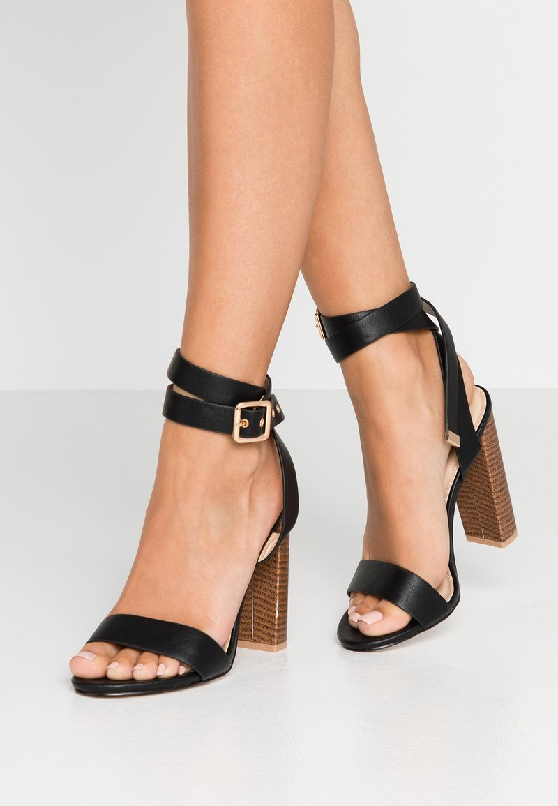 Public Desire - BREA - High Heel Sandalette - black