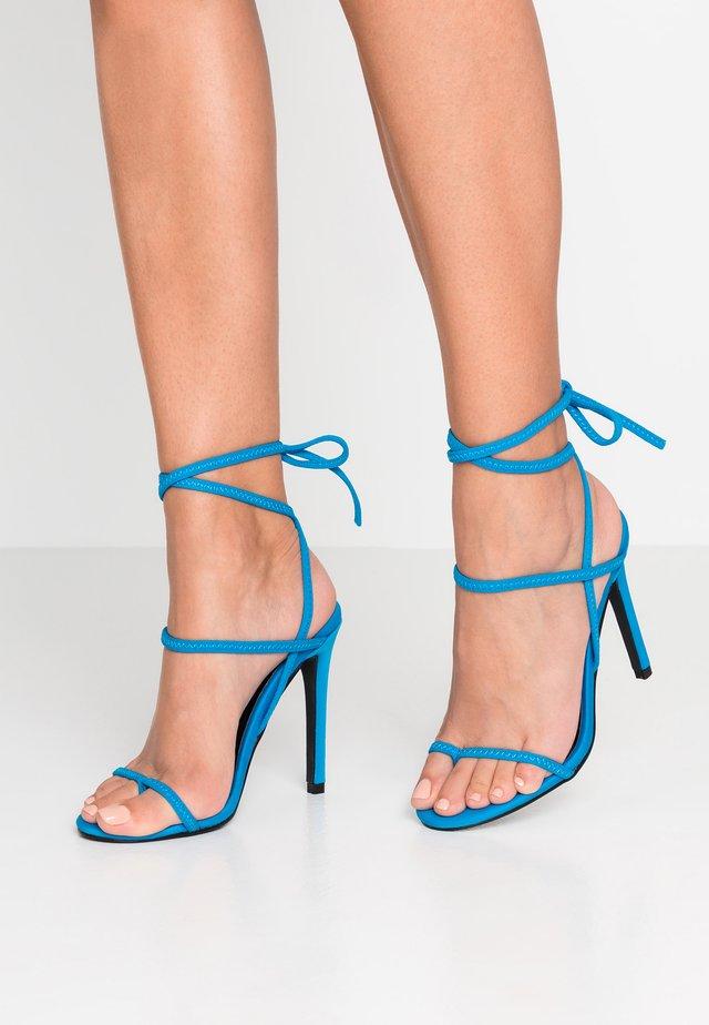 FOCUS - High heeled sandals - blue