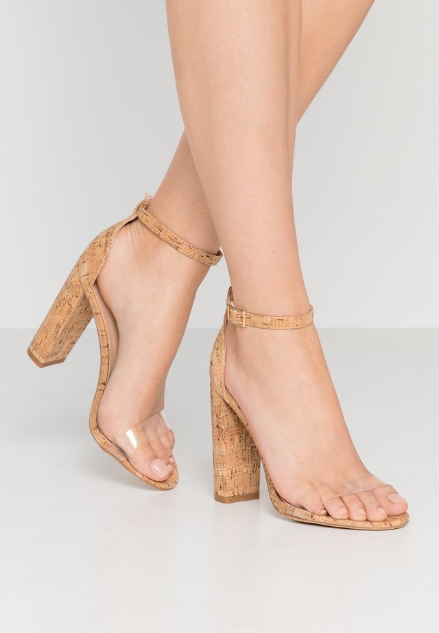 ANA - High Heel Sandalette - natural