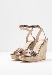 Public Desire - SYDNEY - High heeled sandals - natural - 4