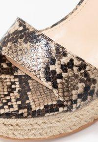Public Desire - SYDNEY - High heeled sandals - natural - 2