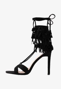 Public Desire - MONTANA - Korolliset sandaalit - black - 1