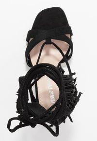Public Desire - MONTANA - Korolliset sandaalit - black - 3