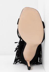 Public Desire - MONTANA - Korolliset sandaalit - black - 6