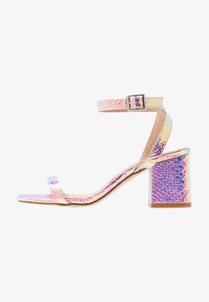 Sandals - iridescent
