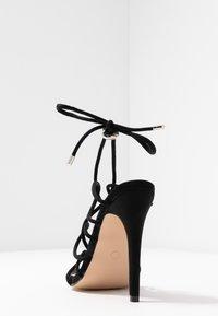 Public Desire - SAVY - High heeled sandals - black - 5