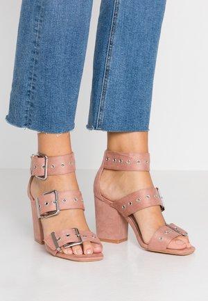 GIMMIE - High heeled sandals - nude