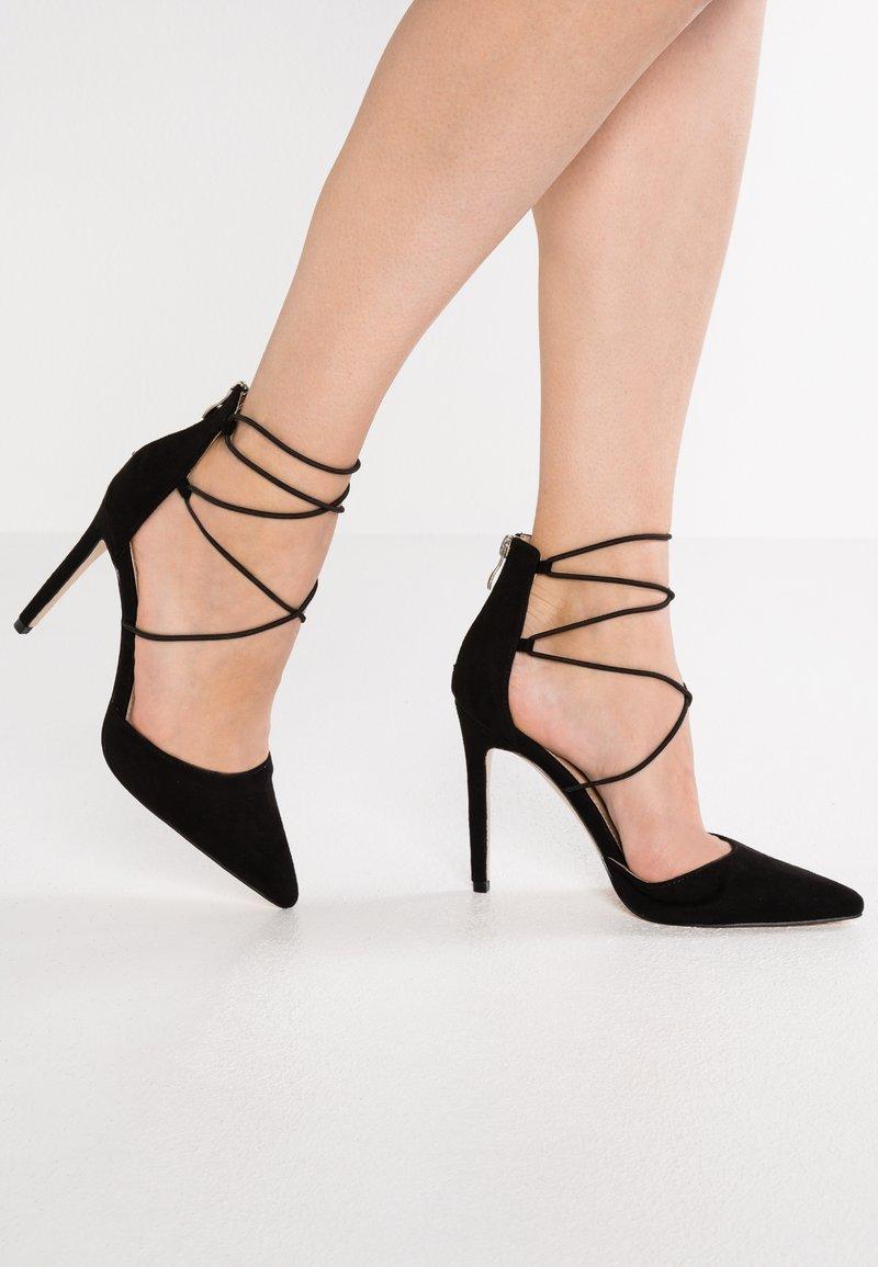 Public Desire - VOLT - High heels - black