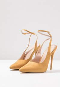 Public Desire - JAYDE - High heels - mustard - 4