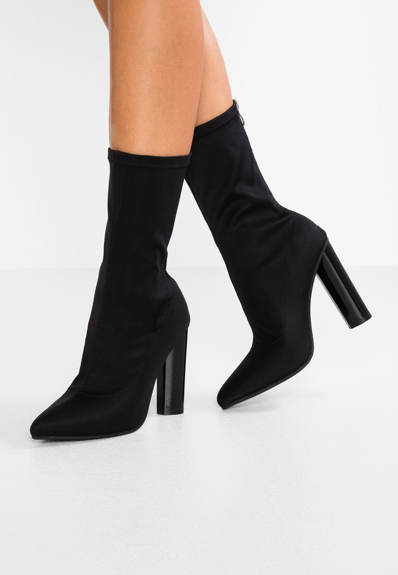 Public Desire - CAYDEN - High Heel Stiefelette - black