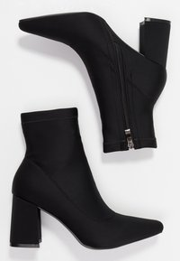 Public Desire - GRIZZLY - Bottines à talons hauts - black - 3